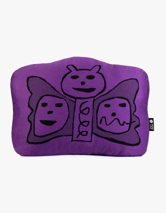 Balansa X More Love By Kentaro Butterfly Cushion - Purple | HEIGHTS. | 하이츠 온라인 스토어