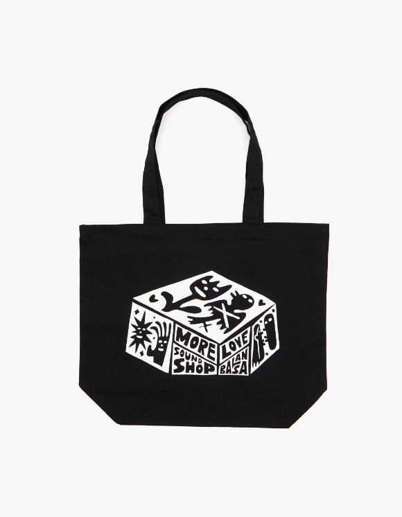 Balansa X More Love By Kentaro Balansa X kentaro Tote Bag - Black | HEIGHTS. | 하이츠 온라인 스토어