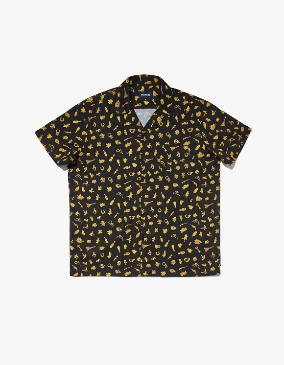 WKNDRS Treasure S/S Shirt - Black | HEIGHTS. | 하이츠 온라인 스토어