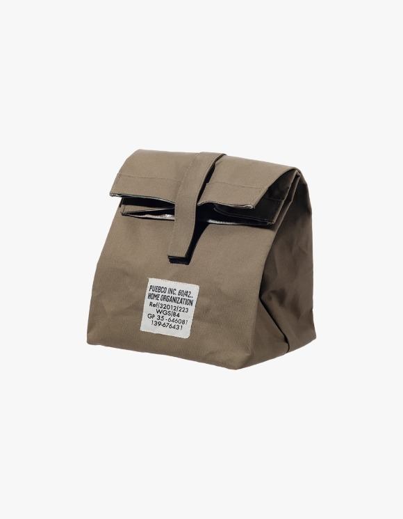 PUEBCO INC. Laminated Fabric Lunch Box Bag - Olive | HEIGHTS. | 하이츠 온라인 스토어