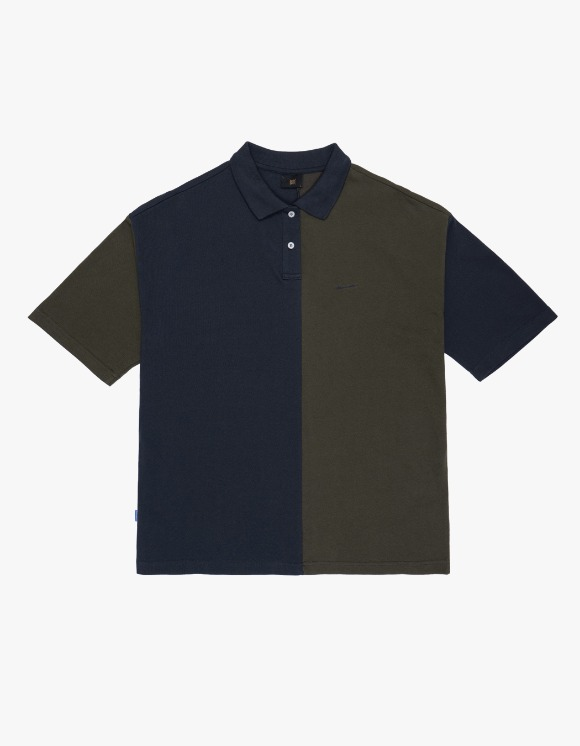 BROWNBREATH Signature PK Shirts - Navy | HEIGHTS. | 하이츠 온라인 스토어