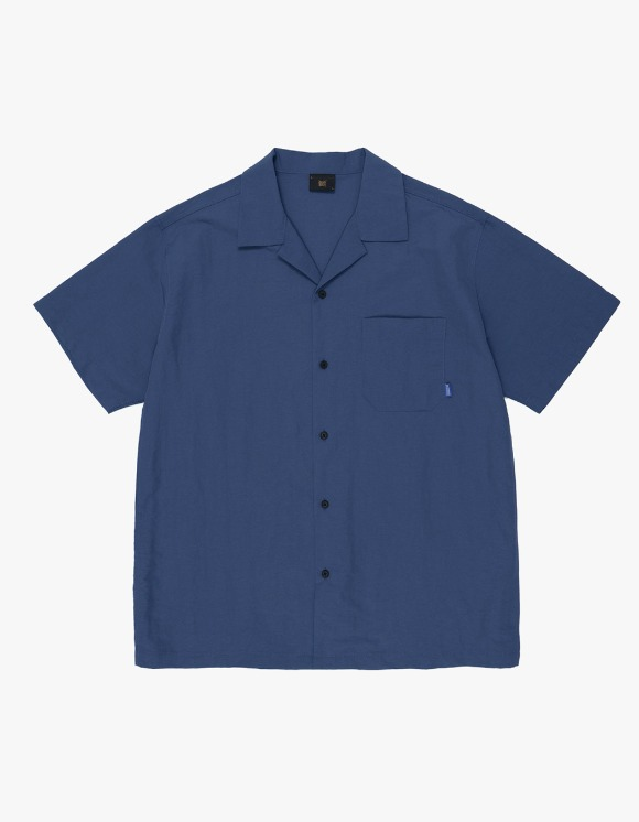 BROWNBREATH B Open Shirts - Navy | HEIGHTS. | 하이츠 온라인 스토어