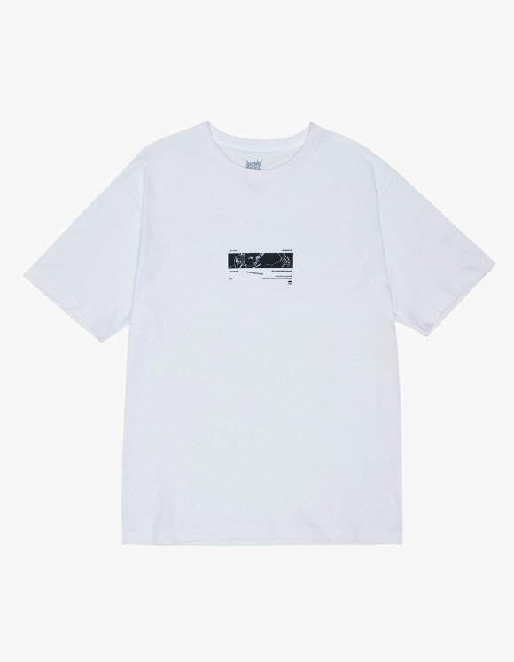 BROWNBREATH Unclassfied Tee - White | HEIGHTS. | 하이츠 온라인 스토어