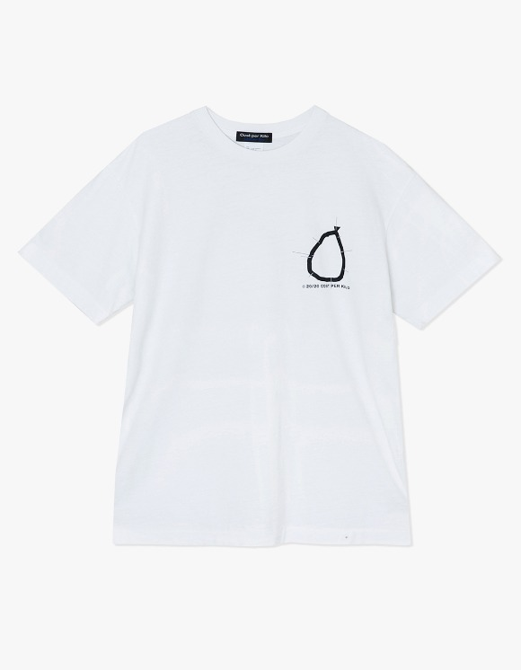 Cost Per Kilo Shoot Out S/S Tee - White | HEIGHTS. | 하이츠 온라인 스토어