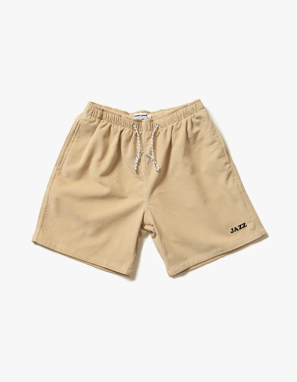 sounds good! Jazz Relaxed Cord Short - Beige | HEIGHTS. | 하이츠 온라인 스토어
