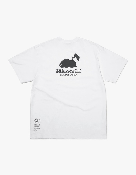 thisisneverthat PKM Break Tee - White | HEIGHTS. | 하이츠 온라인 스토어