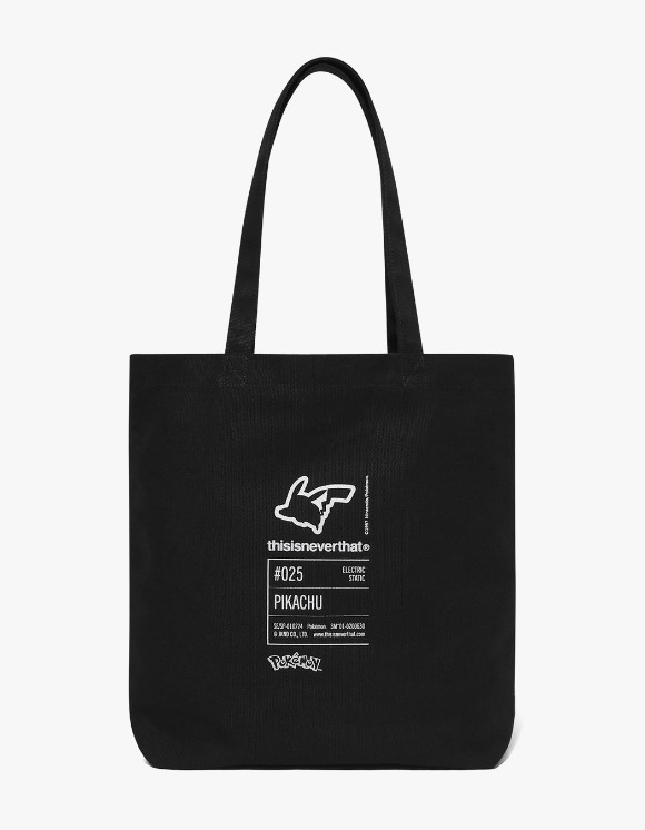 thisisneverthat PKM Tote Bag - Black | HEIGHTS. | 하이츠 온라인 스토어