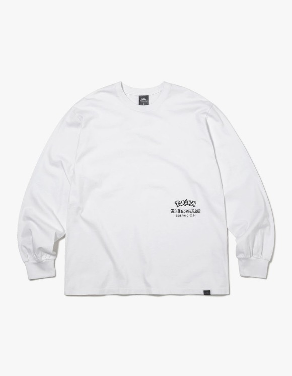 thisisneverthat PKM Break L/SL Top - White | HEIGHTS. | 하이츠 온라인 스토어