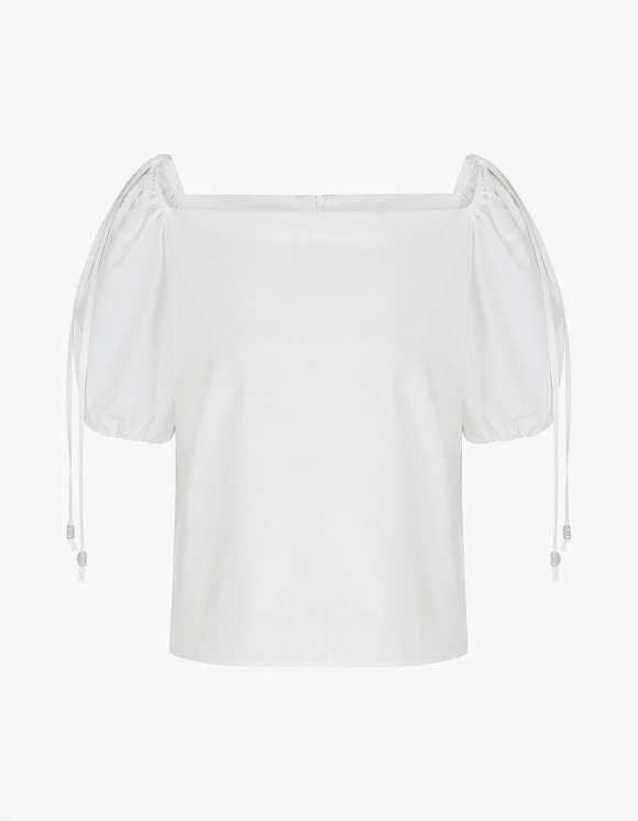 Margarin Fingers Sherbet Blouse - White | HEIGHTS. | 하이츠 온라인 스토어