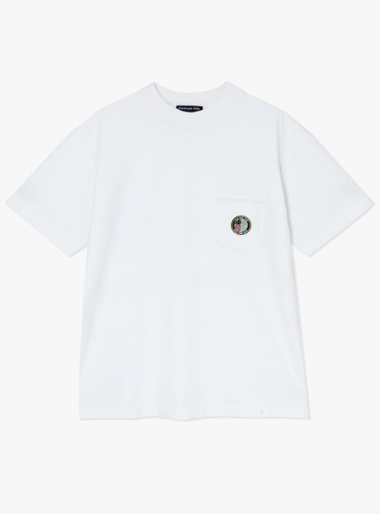 Cost Per Kilo Factory Pocket S/S Tee - White | HEIGHTS. | 하이츠 온라인 스토어
