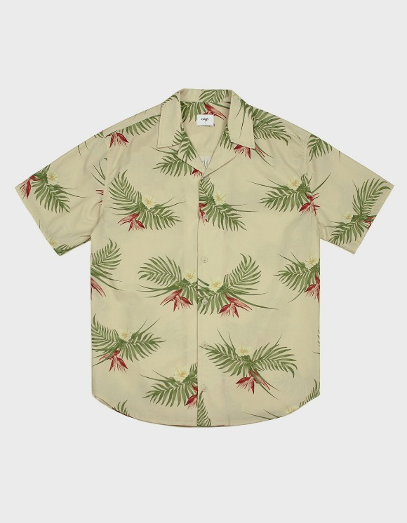 CLIF 20S Hawaiian Shirts - Beige | HEIGHTS. | 하이츠 온라인 스토어