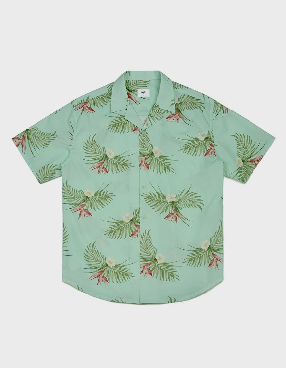 CLIF 20S Hawaiian Shirts - Mint | HEIGHTS. | 하이츠 온라인 스토어