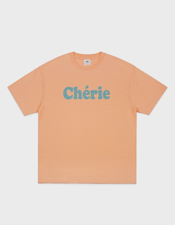 CLIF Cherie Tee - Coral | HEIGHTS. | 하이츠 온라인 스토어