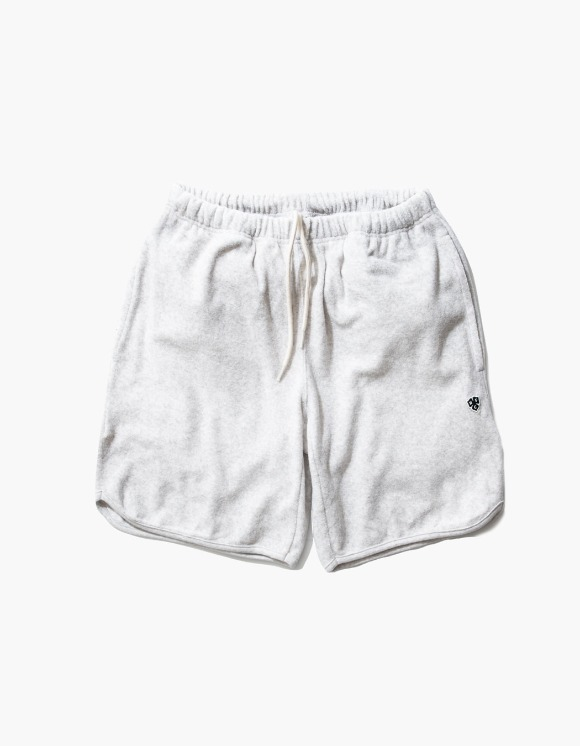 Heritage Floss HFC Crest Towel Shorts - M.Grey 1% | HEIGHTS. | 하이츠 온라인 스토어