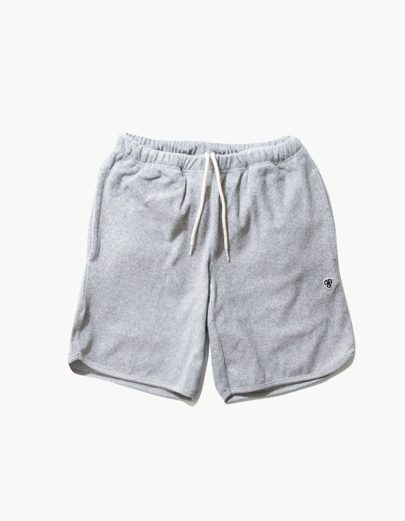Heritage Floss HFC Crest Towel Shorts - M.Grey 5% | HEIGHTS. | 하이츠 온라인 스토어