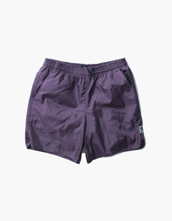 Heritage Floss Nylon Diamond Washer Shorts II - Purple | HEIGHTS. | 하이츠 온라인 스토어