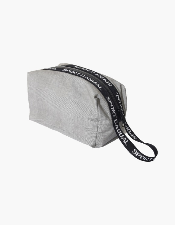 Heritage Floss Sports Pouch - Glen Check Grey | HEIGHTS. | 하이츠 온라인 스토어