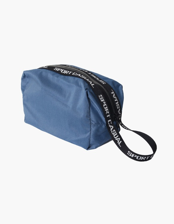 Heritage Floss Sports Pouch - Indigo | HEIGHTS. | 하이츠 온라인 스토어