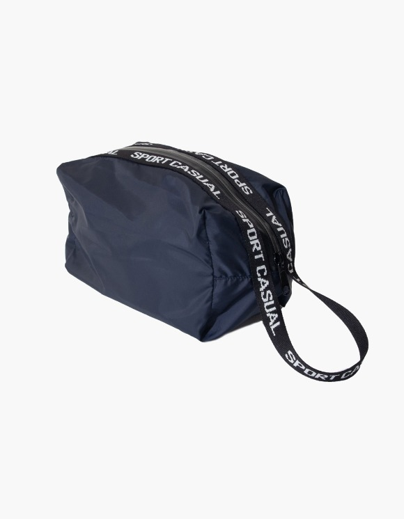 Heritage Floss Sports Pouch - Navy | HEIGHTS. | 하이츠 온라인 스토어