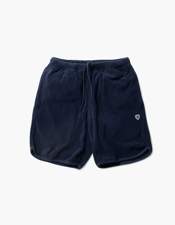 Heritage Floss HFC Crest Towel Shorts - Navy | HEIGHTS. | 하이츠 온라인 스토어