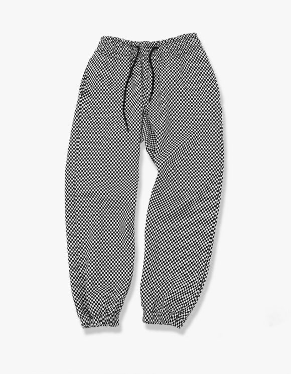 Enzo Blues Checkered Sweatpants | HEIGHTS. | 하이츠 온라인 스토어