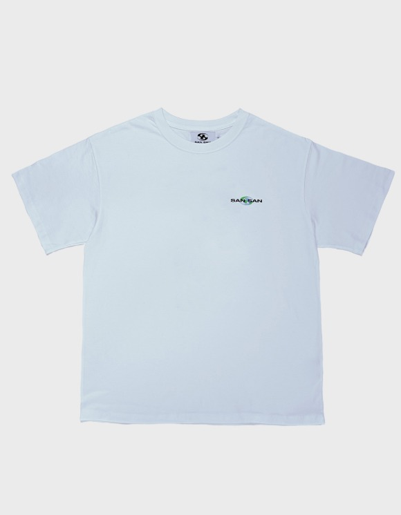 San San Support S/S Tee - White | HEIGHTS. | 하이츠 온라인 스토어
