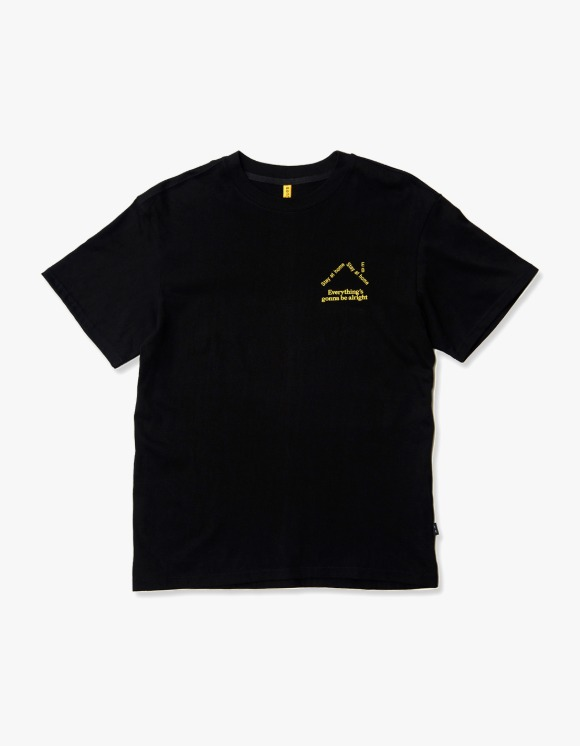 Enzo Blues Quarantine Logo S/S Tee - Black | HEIGHTS. | 하이츠 온라인 스토어