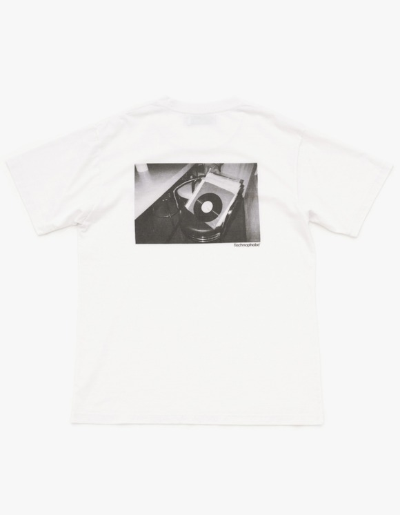 Technophobe Dancing Area Tee - White | HEIGHTS. | 하이츠 온라인 스토어