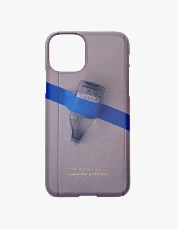 Enzo Blues Quarantine Digital Print Phone Case - Taped Bottle | HEIGHTS. | 하이츠 온라인 스토어