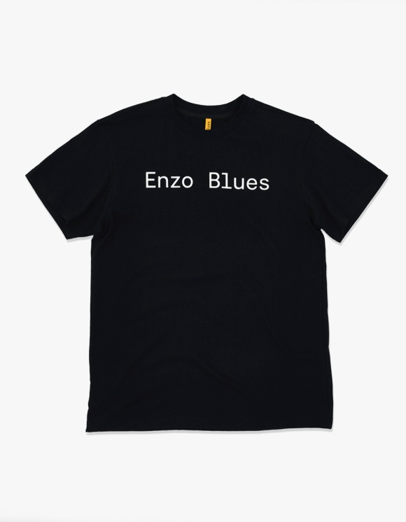 Enzo Blues Basic Logo S/S Tee - Black | HEIGHTS. | 하이츠 온라인 스토어