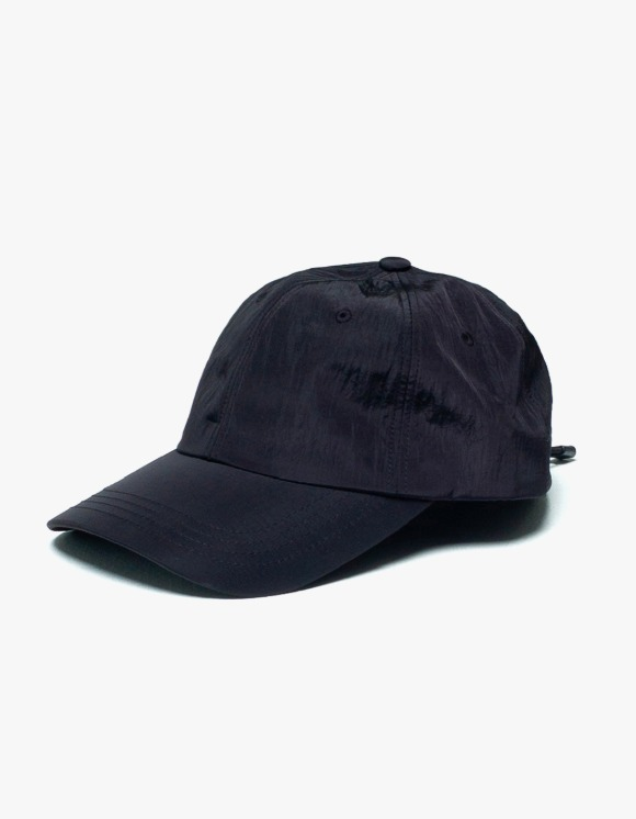 AYC Nylon String Ball Cap - Black | HEIGHTS. | 하이츠 온라인 스토어