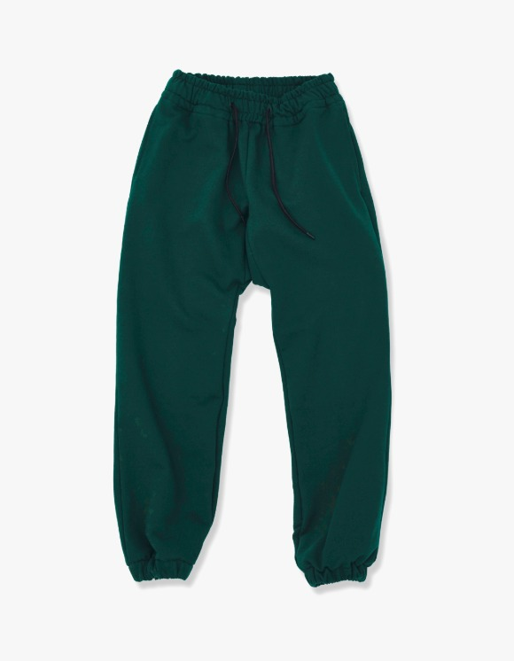 Enzo Blues Heavy Sweatpants - Deep Green | HEIGHTS. | 하이츠 온라인 스토어