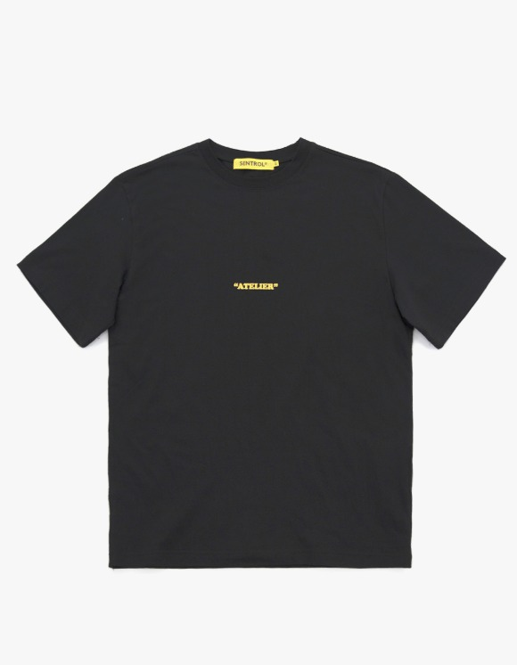 "Sentrol®Haus ""Atelier"" Style Two Standard Fit S/S Tee - Black 