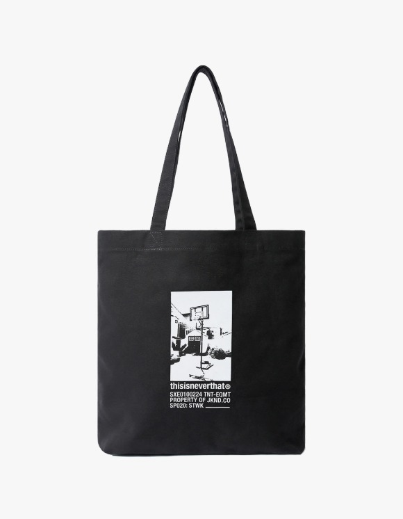 thisisneverthat STWK Souvenir Tote - Black | HEIGHTS. | 하이츠 온라인 스토어