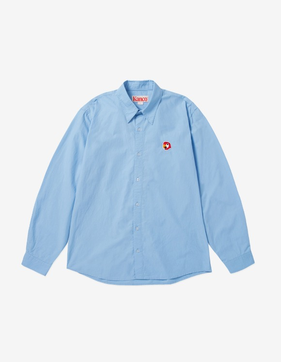 KANCO KANCO POPLIN SHIRT blue | HEIGHTS. | 하이츠 온라인 스토어