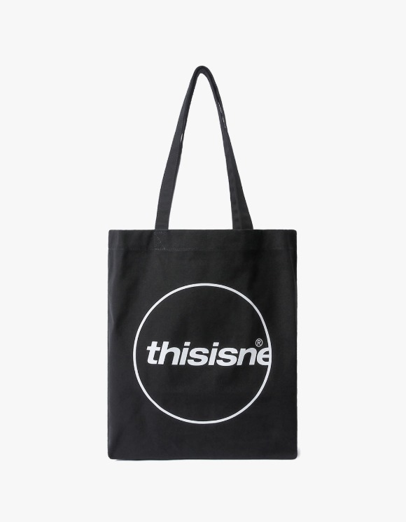 thisisneverthat C-Logo Souvenir Tote - Black | HEIGHTS. | 하이츠 온라인 스토어