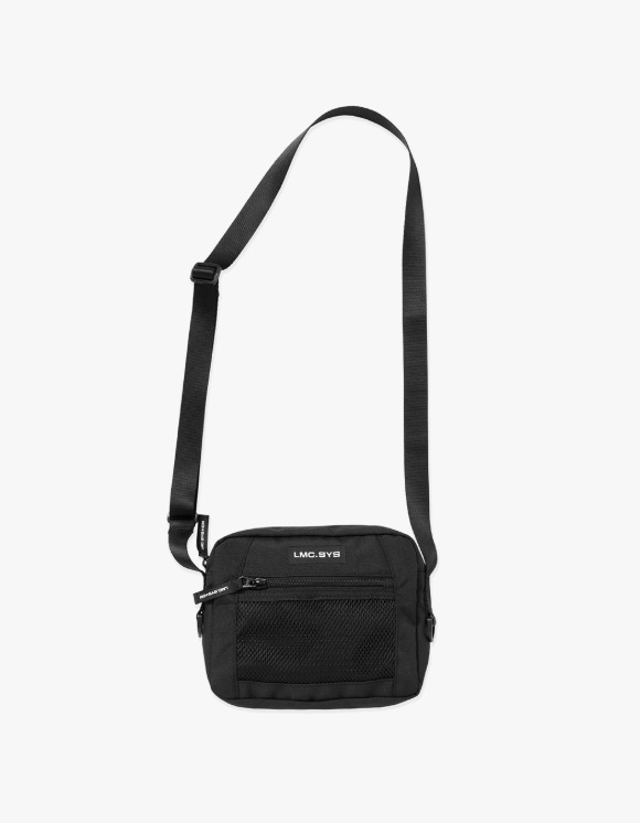 LMC SYSTEM LMC SYSTEM UTILIZE CROSS BAG black | HEIGHTS. | 하이츠 온라인 스토어