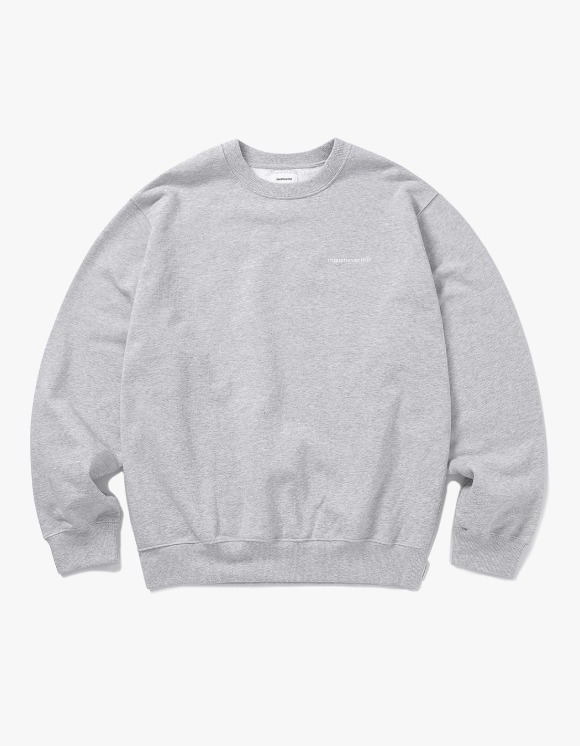 thisisneverthat INTL. Logo Crewneck - Grey | HEIGHTS. | 하이츠 온라인 스토어