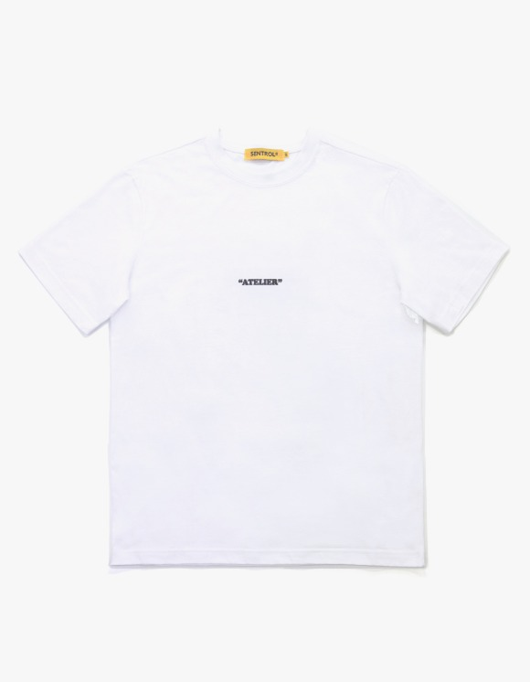 "Sentrol®Haus ""Atelier"" Style Two Standard Fit S/S Tee - White 