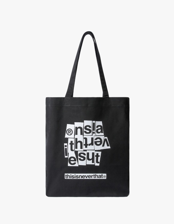 thisisneverthat CNP-Logo Souvenir Tote - Black | HEIGHTS. | 하이츠 온라인 스토어