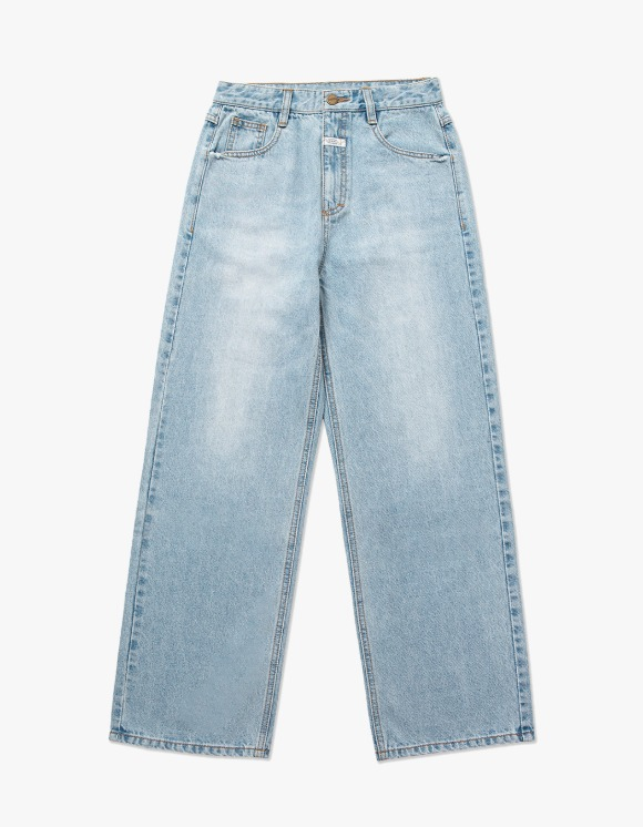 Marith+Franois Girbaud MARITHE W WIDE JEANS light blue | HEIGHTS. | 하이츠 온라인 스토어
