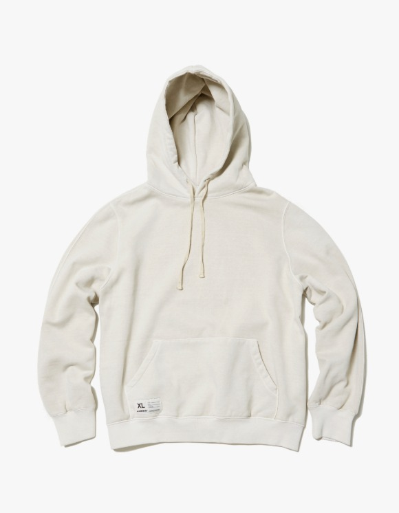 LORES Garment Dyed Pullover Hoodie - Oat Beige | HEIGHTS. | 하이츠 온라인 스토어