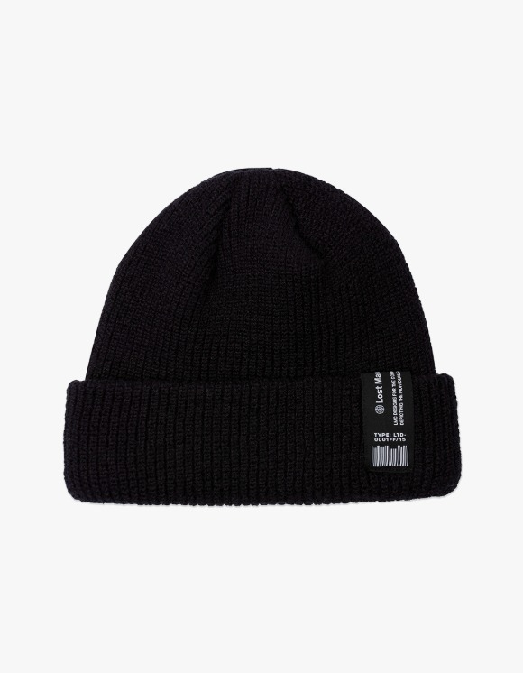 LMC LMC LABEL SHORT BEANIE black | HEIGHTS. | 하이츠 온라인 스토어