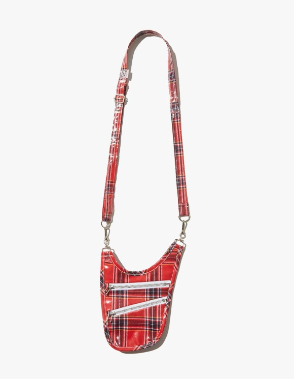 JOEGUSH Travel Cross Bag - Tartan Red | HEIGHTS. | 하이츠 온라인 스토어
