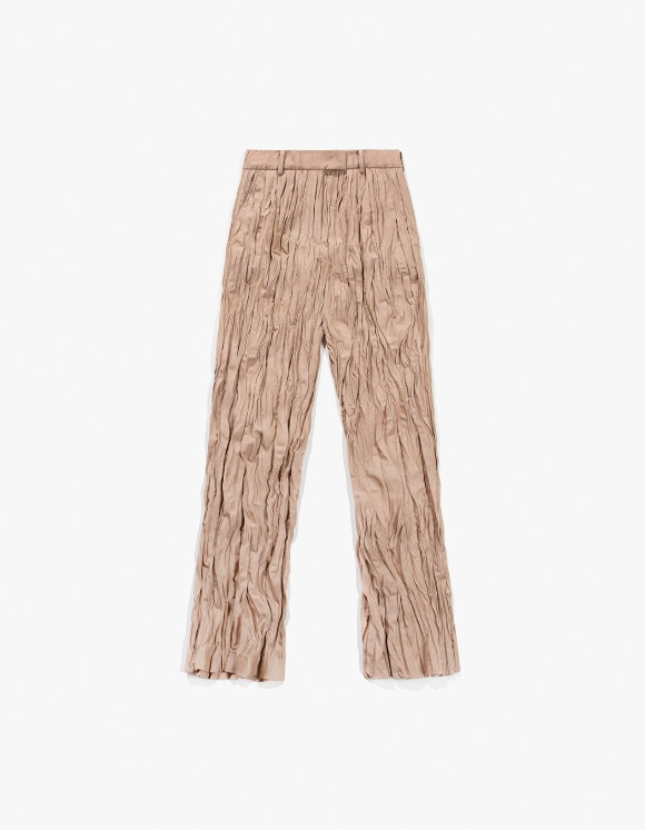 TheOpen Product Crinkle Pleat Pants - Beige | HEIGHTS. | 하이츠 온라인 스토어