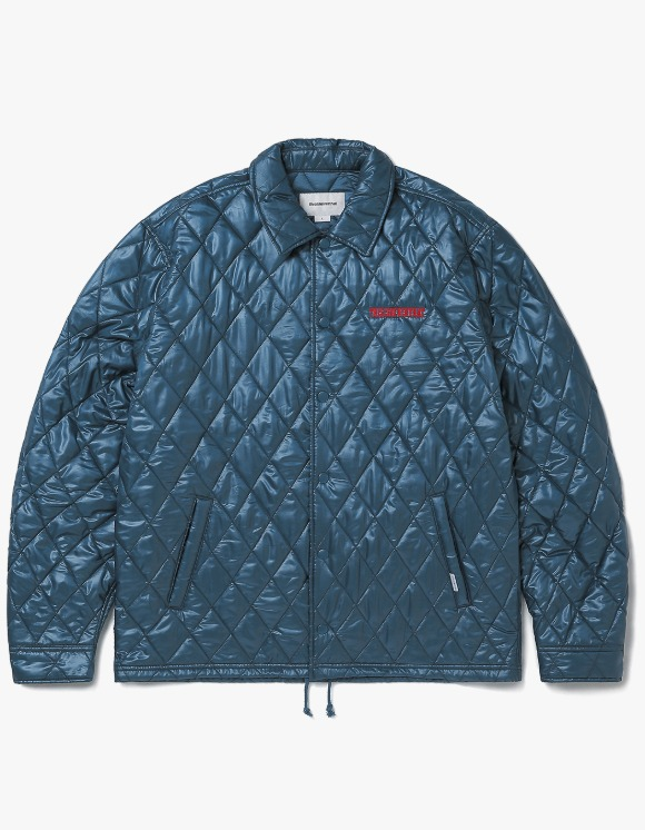 thisisneverthat Quilted Coach Jacket - Blue Green | HEIGHTS. | 하이츠 온라인 스토어