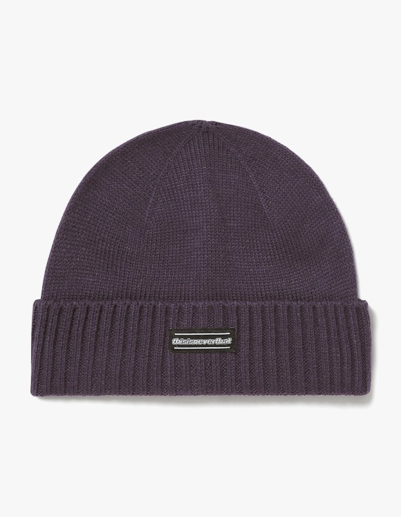 thisisneverthat ESP-Logo Beanie - Purple | HEIGHTS. | 하이츠 온라인 스토어