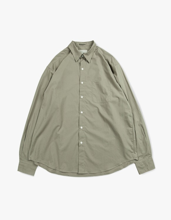 Brown Yard Steady Shirts - Olive Grey | HEIGHTS. | 하이츠 온라인 스토어
