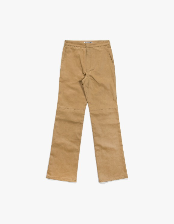TheOpen Product Paper Like Straight Pants - Mustard | HEIGHTS. | 하이츠 온라인 스토어