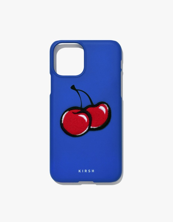 KIRSH Big Cherry iPhone Case JA - Blue | HEIGHTS. | 하이츠 온라인 스토어